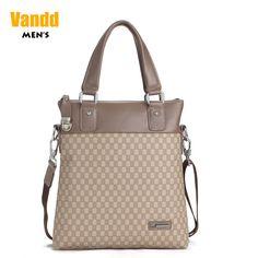 Aliexpress.com : Buy Vandd Men's PU Leather Khaki Paid Tote Handbag Fashion Shoulder Messenger Bag New Designer Style from Reliable sport men bag suppliers on Vandd Men. $57.00 men bag