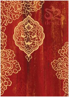 abstract arabic print