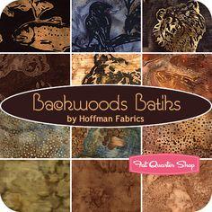 Backwoods Batiks Fat Quarter Bundle Hoffman Fabrics #FQSgiftguide