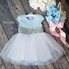 Как сшить пышное платье на годовалую девочку 38