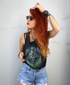 I really like her hair!