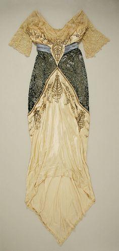 Dress, art nouveau, Metropolitan Museum of Art - 1914 | JV