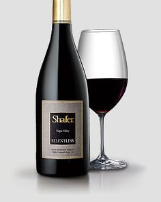 Shafer 2009 Relentless. Purple/black                    fruit, smoked meat, spice, incense, black plums and berry. A full & rich Syrah that is excellent for aging, and if this vintage is anything like 2007 & 2008, then I will be in heaven!