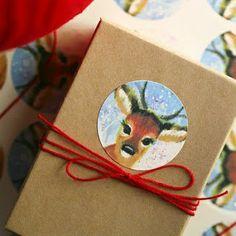 ♥ Stipje:  cute gift wrap ideas