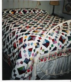 Amazing Jewel Box Quilt done in Batiks