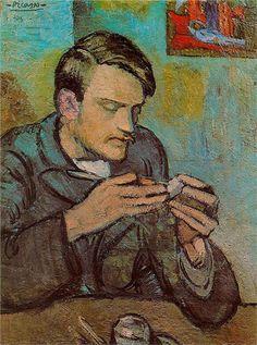 Portrait of Mateu Fenandez de soto. Pablo Picasso - 1901