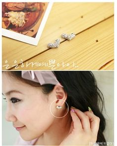 Fully-jewelled Personality Ear Studs for only $&.99 #Fashion #Accessories