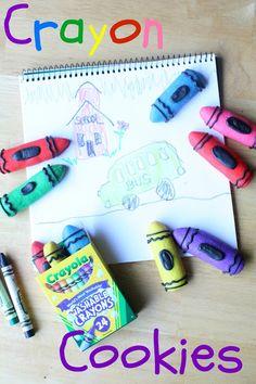 Munchkin Munchies: Crayon Cookies