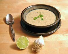 cilantro lime white Bean soup
