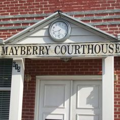 Mayberry Courthouse