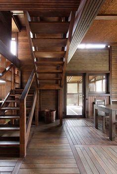 Wood Patchwork House by Peter Kostelov - Dezeen
