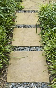river rocks, stone paths, patio walkway, garden paths, side yards