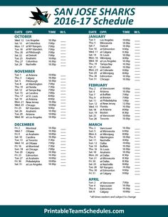 1000+ images about nhl hockey schedule 2017 on pinterest