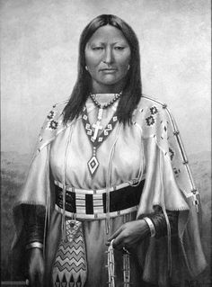Chipeta was a Native American woman, and the second wife of Chief Ouray of the Uncompahgre Ute tribe. Born a Kiowa Apache, she was raised by the Utes in what is now Conejos, Colorado. Advisor and confidant of her husband, Chipeta continued as a leader of her people after his death in 1880.