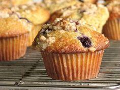Delectably Mine: Blueberry Orange Muffins
