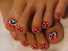 summer toenail design ideas | Chic Toe Nail Art Ideas for Summer