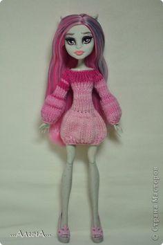 Одежда для кукол своими руками монстер хай видео