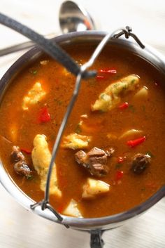 How to cook a great goulash, courtesy of Google Reader