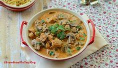 Chicken Stroganoff (Estrogonofe de Frango)