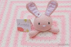 Bunny security blanket, link to pattern