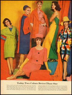 1960s Fashion Ads Images & Pictures - Becuo