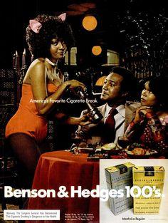 Benson & Hedges 100's, 1973