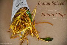 Indian Spiced Baked Potato Chip Sticks Recipe