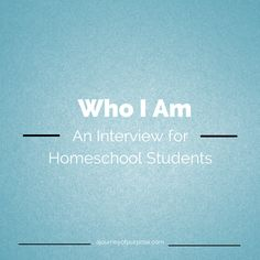Start the Year With a Student Interview {Free Printable}