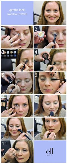 how to: NATURAL NYMPH Every Day Makeup    http://www.eyeslipsface.com/blog.asp?blog_id=1001204=1    #eyeslipsface #everydaymakeup #beauty
