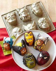 Marvel Super Hero Head pan!