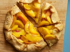 Rustic Gingered Peach Tart