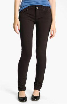 See Thru Soul Skinny Ponte Pants (Juniors) | Nordstrom