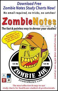 Free Zombie Notes Study Charts