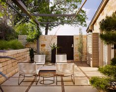 patio design, backyard landscaping, small backyards, contemporary gardens, side yards, hous, stone patios, courtyard, stepping stones