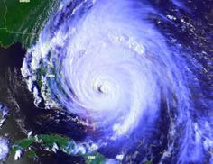 """(Hurricanes) As the earth spins morally out of control, our Lord predicted that hurricanes would violently stir up the world's oceans.  """"..the sea and the waves roaring."""" (Luke 21:25)"""