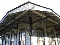 Old train depot - East Florence, Alabama