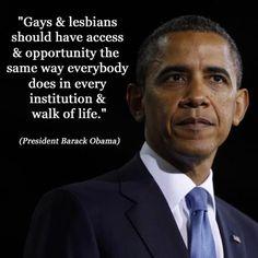 #Obama #Equality