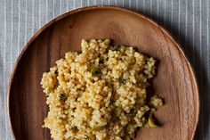 Citrus Olive Couscous, a recipe on Food52
