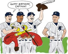 Happy Birthday to the one, the only, Derek Jeter!