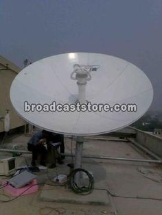 B Systems SNG 2.4M C-band Flyaway Turnkey system