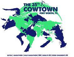 Cowtown Marathon, Half Marathon, 10K, 5K Dallas Ft. Worth Texas