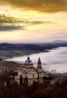 San Biagio at Montepulciano - Siena, Tuscany