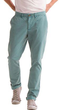 Men's Chino Pants, Green by J.A.C.H.S I want these pants lol