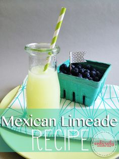 Sparkling Mexican Limeade