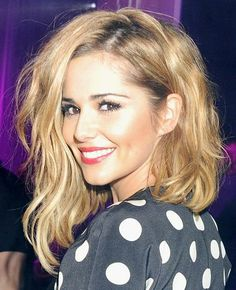 Cheryl Cole -- maybe my next hair inspiration?? Love having long hair but this is just too cute.