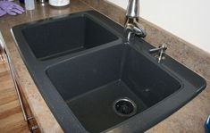 How to clean and shine a Black Granite Composite Sink