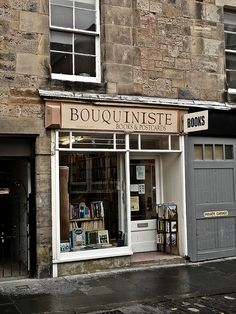 Bouquiniste - Rare and Second Hand Book Sellers St. Andrews, Scotland (viabookoasis; photo byDavid Basanta)