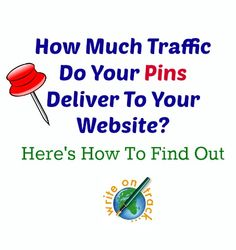 How much traffic do your pins deliver to your website