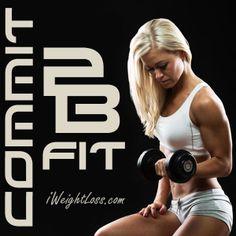 Commit 2B Fit in 2014! Details visit: http://www.iweightloss.com #visalus #vilife #bodybyvi #fitness #challenge