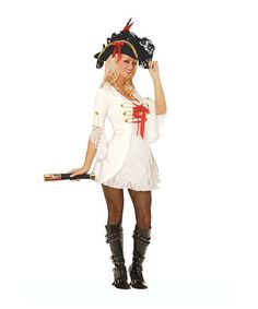 Another great find on #zulily! Ivory Pirate Costume Set - Women by Elegant Moments #zulilyfinds